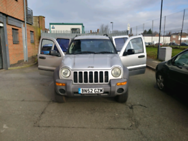 Part ex to clear jeep 52 plate £1100.00 no offers