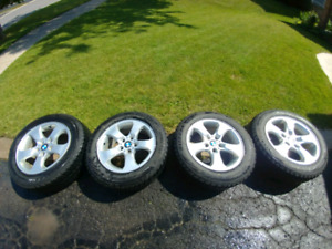 BMW X3 winter tires and rims