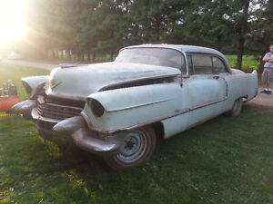 1955 Cadillacs TWO OF THEM  as is 95%  complete