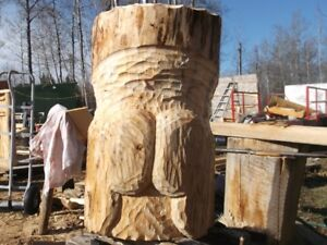 10  chainsaw  carvings