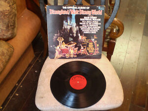 the official album of Disneyland/walt disney world 33 tour Lp