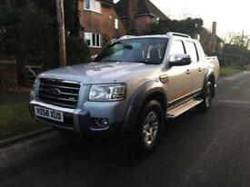 2008 Ford Ranger 3.0 TDCi Wildtrak Double Cab Crewcab Pickup 4x4 4dr NO VAT