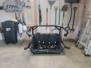 Can Am Commander Rear Seat and Roll Cage