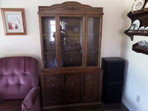 TWO PIECE BUFFET AND HUTCH