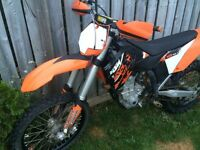 2009 KTM 450SX May trade for something motorized.