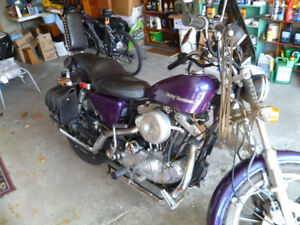 REDUCED!!! HARLEY-DAVIDSON SPORTSTER- MINT COND.-MUST SACRIFICE