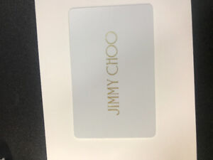 $100 Gift Card to Jimmy Choo Vancouver