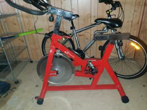 Racing Red Spin Bike