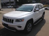 2014 JEEP GRAND CHEROKEE LIMITED BLANC 42000KM SUPER