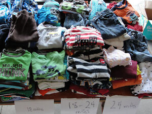 Baby boy Clothing size12 months to 3T (lots of 3T) London Ontario image 1