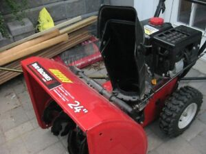 Yard Machines MTD 24 in. two-stage snow blower like NEW