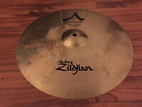 "Zildjian 15""/38cm A Custom Fast Crash Cymbal made in usa"