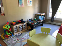 TWO Child Care Spaces Available IMMEDIATELY