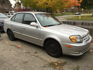 2004 Hyundai Accent as is $800 OBO