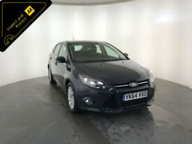 2014 64 FORD FOCUS TITANIUM NAVIGATOR TDCI 1 OWNER SERVICE HISTORY FINANCE PX