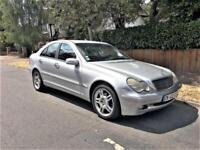 2002 Mercedes-Benz C220 2.1TD Auto CDI Classic + LEFT HAND DRIVE + LHD