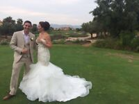 Allure couture wedding dress - like new