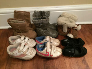 Size 5 & 6 Toddler Girls Shoes, Sneakers, and Boots