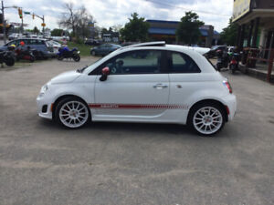 2013 Fia, 500c Abarth Turbo, 4 CYL, SUNROOF, LEATHER, P/L, CERT!