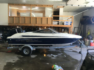 16.5 ft speed boat