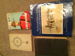 Vintage RCMP Book Collection