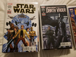 Star wars comic sets