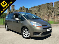 2008 Citroen Grand C4 Picasso 1.6HDi 16v EGS Exclusive **7 Seater - History**