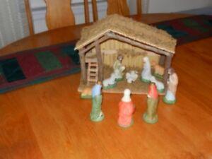 Beautiful Nativity scene - porcelain pieces