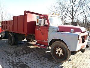 1957 International Dump Truck S160
