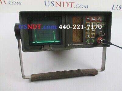 Krautkramer Usk 7d Ultrasonic Flaw Detector Ndt Ge Panametrics Olympus Epoch Usn