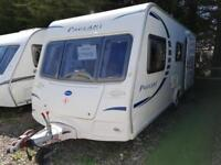 2009 Bailey Pageant Champagne 4 Berth End Washroom Caravan, Motor Mover