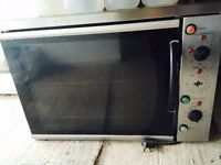 Burco electric convection oven