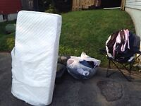 Car seat and infant/toddler mattress