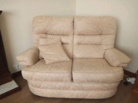 2x2 seater sofas and armchair