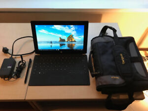 Microsoft Surface 128GB w/ carrying case, pen, and keyboard