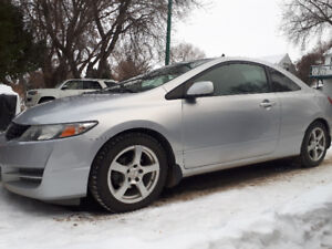 2009 Honda Civic ex-l Coupe (2 door)