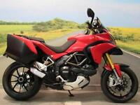 Ducati Multistrada 1200 S Touring *Panniers, Low miles*