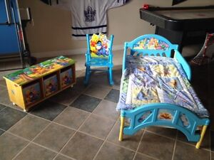 Winnie the Pooh toddler bed set