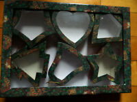 Decorative Shaped Fillable Box Ornaments New