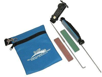 Dmt Sharpening Stones (DMT Sharpener Deluxe Aligner Kit 3 Stone Sharpening Kit)