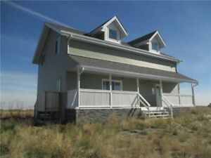 For horse lovers - almost new acreage by Carstairs - rent to own