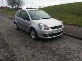 2006-06 Ford Fiesta 1.25 Studio 3-Door Metallic Silver