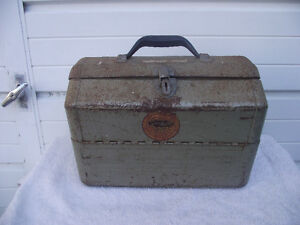 Vintage Simonsen Fishing Tackle Box