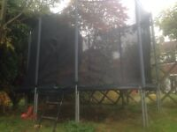 G - Force rectangle shaped Trampoline 8ft by 5ft bounce area.