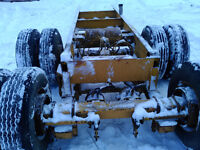 "Tandem dual air brake axle set..17"" tires.Dollies?  $3200.00"