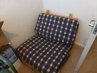 Single futon and mattress