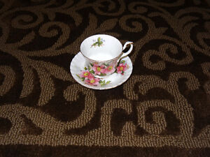 Prairie Rose China - assorted pieces Strathcona County Edmonton Area image 8