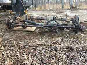 jeep XJ dana 35, rear tire carrier, rear drive shaft