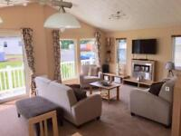 Lodge for sale not static caravan Devon nr Cornwall 12 month season
