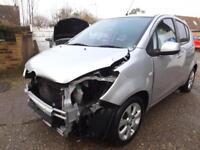 Vauxhall/Opel Agila 1.2i 16v ( a/c ) 2008 Design SPARES OR REPAIR